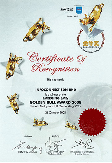 Certificate-Of-Recognition-golden-bull